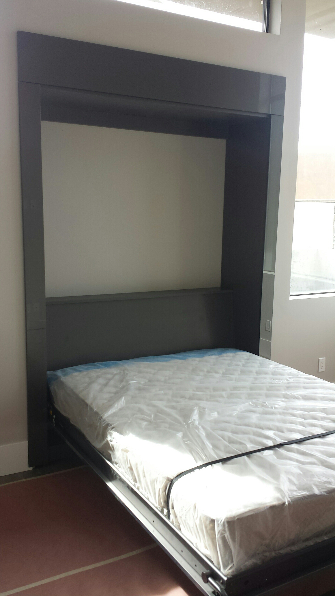 underneath raised with images closet loft bed